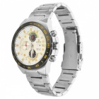 VaLia 8617 Men's Japanese Quartz Watch with 4 Real Sub-Dials - White
