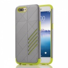Dual Layer PC TPU Case for OPPO R11 Plus - Grey, Green
