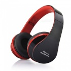 Eastor NX-8252 Stereo Bluetooth Sport Headphone with Mic - Red