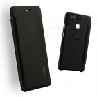 Lenuo ledream Series Leather Cover Case for Huawei P9 - Black