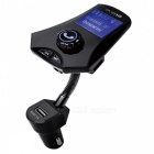 KELIMA M7 Bluetooth 3.0 Car FM Transmitter with USB 2.0 - Black