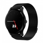 Eastor K88 Metal Bluetooth Smart Watch with Heart Rate Monitor - Black