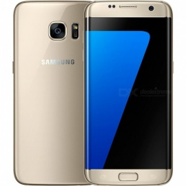 Samsung Galaxy S7 Edge G935F Single SIM Phone with 4GB, 32GB - Golden