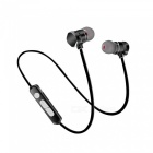 Eastor X3 Sport Bluetooth Magnetic In-Ear Earphone with Mic - Black