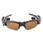 Eastor Bluetooth Sunglasses Hands-free Earphone with Mic - Brown