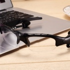 Eastor Bluetooth Sunglasses Hands-free Earphone with Mic- Transparent