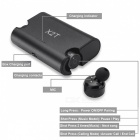 Eastor X2T TWS Bluetooth True Wireless Stereo Earphone with Mic- Black