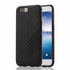 Dual Layer PC TPU Back Case for OPPO R11 Plus - Black