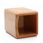 Cosmetic Tool Wooden Desktop Storage Box - Brown
