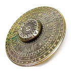 ZHAOYAO Round Shaped 12 Zodiac Gyro Spinner Toy - Bronze