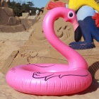 Flamingo Style Floating Pool Swimming Ring för vuxna-djup rosa
