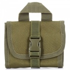 Portable Waterproof Nylon Waist Bag - Army Green