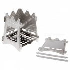 SZFC Portable Stainless Steel Wood Burning Camping Stove