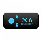Mini Bluetooth Stereo Audio Music Receiver Adapter - Black
