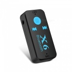 Mini Bluetooth Stereo Audio Musik Receiver Adapter - Schwarz