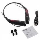 Outdoor Sports Neckband Bluetooth V4.0 Headset - Black