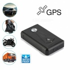 TK800 Waterproof Real Time Tracking Car GPS Tracker - Black