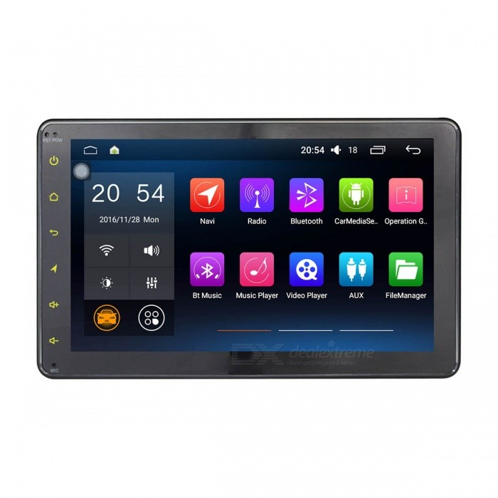 "Joyous J-3867N6.0 HD 8"" Android 6.0.1 Universal Car Radio Player"