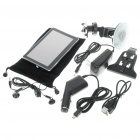 "5"" LCD Windows CE 5.0 Core GPS Navigator w/FM Transmitter + Bluetooth + Internal 2GB Brazil Maps"