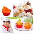 24pcs Soft Silicone Cake Muffin Chocolate Bakeware Baking Cups