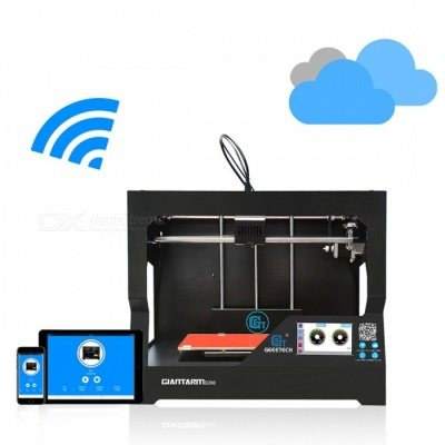 Geeetech GiantArm D200 Large Volume Cloud-based FDM 3D Printer - Black