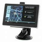 "5"" LCD Windows CE 5.0 Core GPS Navigator w/FM Transmitter + Bluetooth + Internal 2GB USA/Canada Maps"