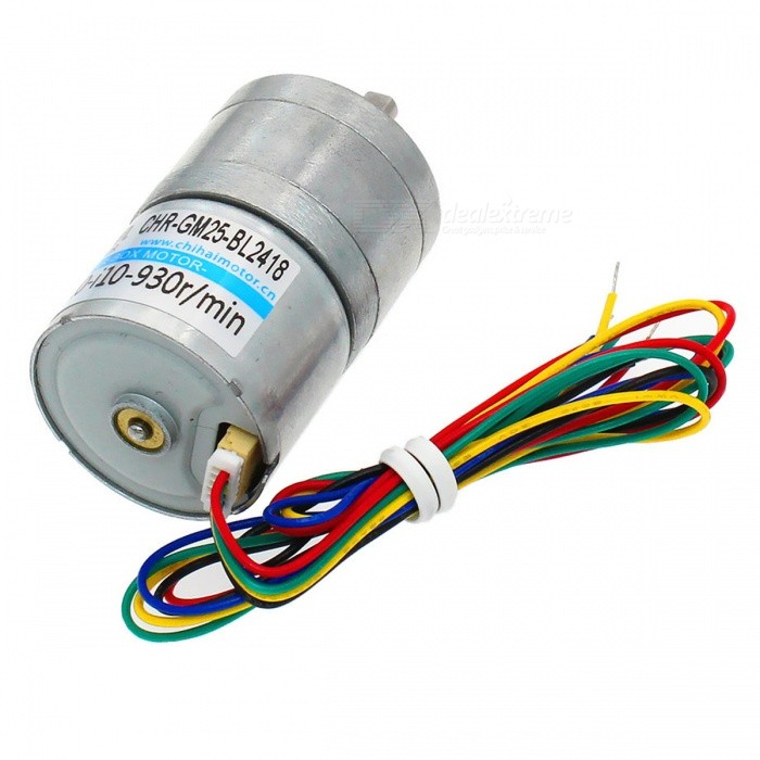 Chrgm25bl2418 dc brushless motor with built in drive 24v for Brushless dc motor cost