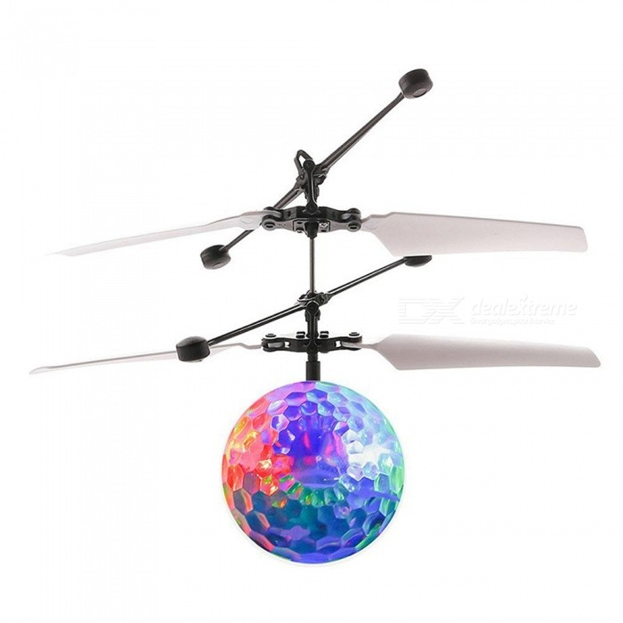 Dayspirit Whirly Blinkande LED Light Flying Induction Disco Ball