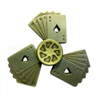 Dayspirit Poker Shape Fidget Releasing Hand Spinner - Bronze