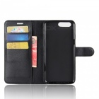 PU Leather Wallet Case with Card Slots, Stand for Oneplus 5 - Black