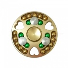 Dayspirit 27-Bead Finger Stress Relief Gyro Spinner Toy - Golden