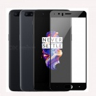 Naxtop Full Screen Protector Tempered Glass for OnePlus 5 - Black