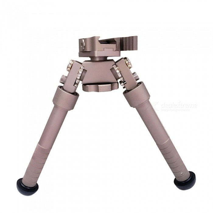 ACCU Professional Tactical Precision Bipod with Picatinny MountBipods &amp; Monopods<br>Form  ColorEarthyMaterialAluminum alloyQuantity1 pieceGun TypeGreat for 20mm rail rifle gunMount TypePica-tinnyTypeBipodDeploy Height21.5cmFolding Height13.5cmExtendable LegsYesPacking List1 x Bipod<br>