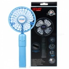 Mobile Power Hand-held Portable Removable Small Fan - Blue