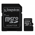 Kingston MicroSDXC 256GB Read:80Mb UHS-I with SD Adapter SDC10G2/256GB