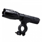 WOSAWE BCD-411 T6 5-Mode Long Range Bike Flashlight with Rotable Clip