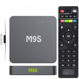 M9S X1 Android 4K HD Smart TV Box with 1GB RAM, 8GB ROM (US Plugs)