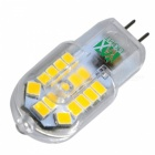 YWXLight 10PCS G4 3W 2800-3200K LED Lamps Warm White AC 220-240V