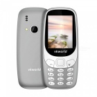 "VKWORLD Z3310 2.4"" GSM Dual SIM Phone with 32MB RAM, 32MB ROM - Gray"
