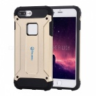 FULLBELL Hard PC Soft Silicone Case for IPHONE 7 Plus - Golden
