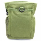Small Trash Nylon Bag, Molle Tactical Casual Sports Bag - Army Green