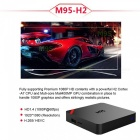 M95 H2 HD 4K Smart Android TV Box mit 1GB RAM, 8GB ROM (US Stecker)
