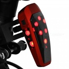USB Charging Smart Induction Brake Taillight (Enhanced Version) - Red