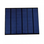 3.5W 12V 290mAh Polycrystalline Silicon Mini Solar Panel, Module Cell for Charger DC Battery DIY