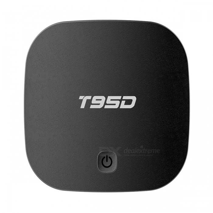 T95D čtverec-Core Android Smart TV Box s 1GB RAM, 8GB ROM (US Plugs)