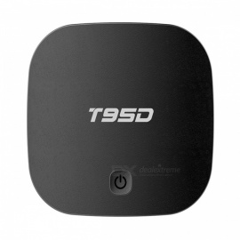 T95D Quad-Core Android Smart TV Box with 1GB RAM, 8GB ROM (US Plugs)