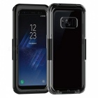 IP68 Waterproof Cover Case for Samsung Galaxy S8 PLUS - Black