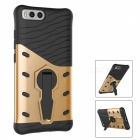 Protective TPU, PC Back Case with Holder Stand for Xiaomi 6 - Golden