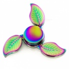 OJADE 3-Leaf Style Fidget Stress Relief Spinner Finger Toy - Colorful