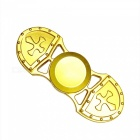 Alloy Finger Toy Stress Relieving Gyro Rotator Spinner for Kids, Adults